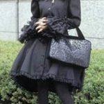 Stilfuldt gotisk-lolita-billede