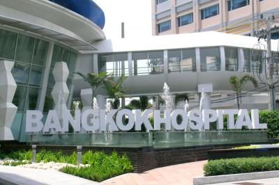 Bangkok Hospital er mange steder i Thailand