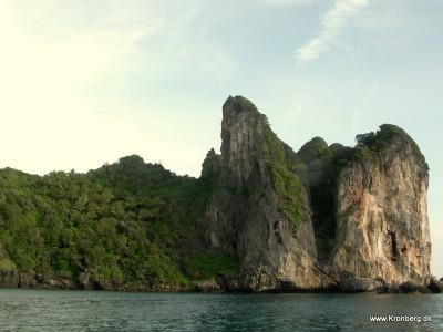 Klipper på Phi Phi