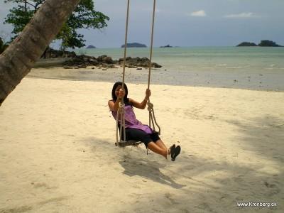 White Sand Beach på Koh Chang i Thailand