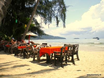 Restaurant på Koh Chang