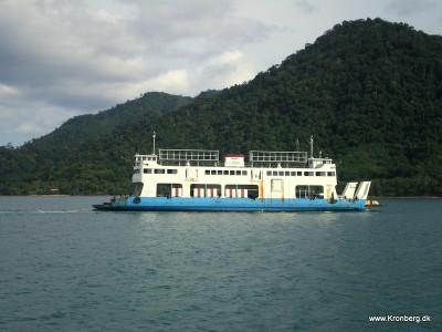 Færgen til Koh Chang