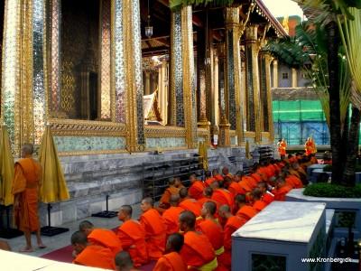 Wat Phra Kaeo på Kongepaladset