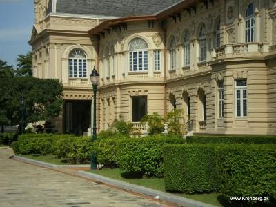 Kongens bolig på paladset