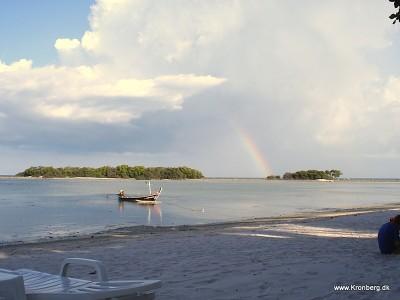 En regnbue på Samui