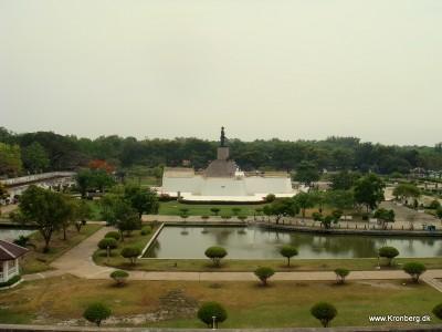 Parken på Chulachomklao