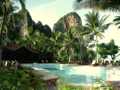 Hotel på Railay Bay Beach West i Krabi