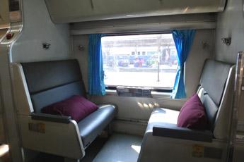 Sovevogn på anden klasse