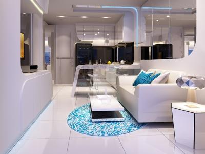 Moderne lejlighed i Thailand