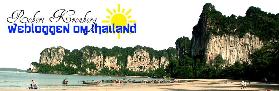 Robert Kronbergs Weblog om Thailand
